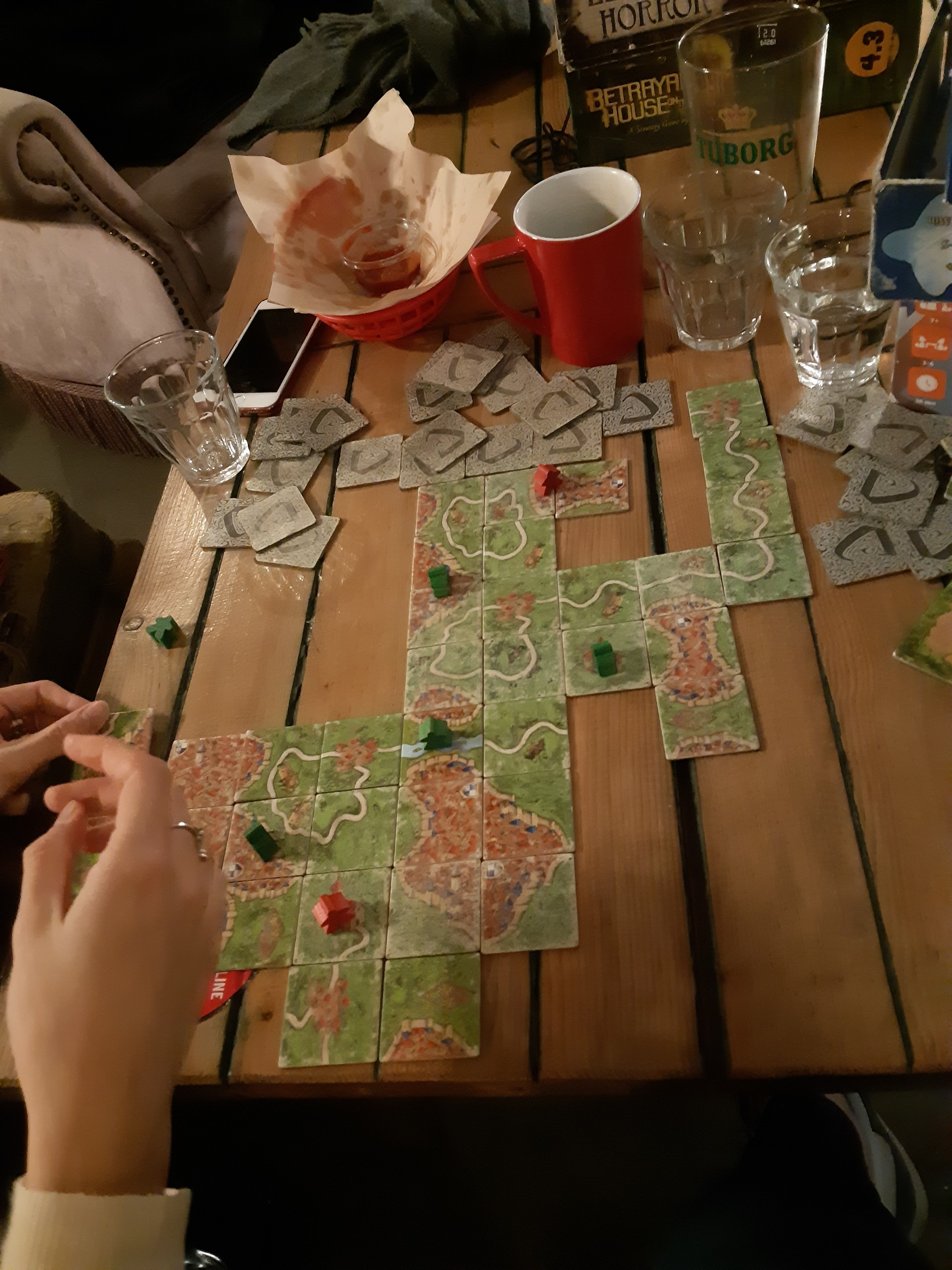 Una tarde entre juegos de mesa