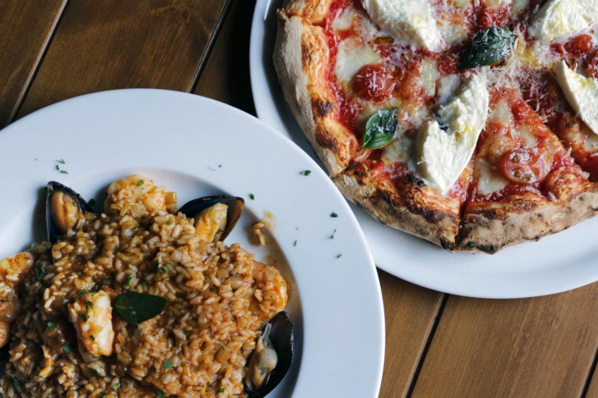 Una verdadera pizza italiana en Múnich