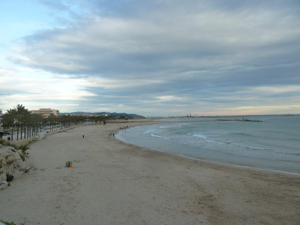 Une promenade relaxante en bord de mer