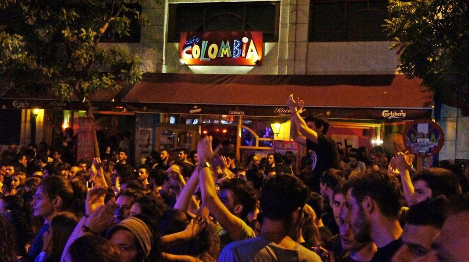 Une touche de Colombie au centre de Thessalonique !