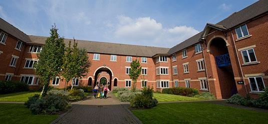University Of Birmingham Single En Suite Bedroom With