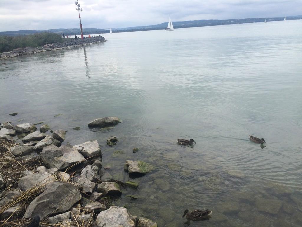 Uno de los lagos más grandes de Europa
