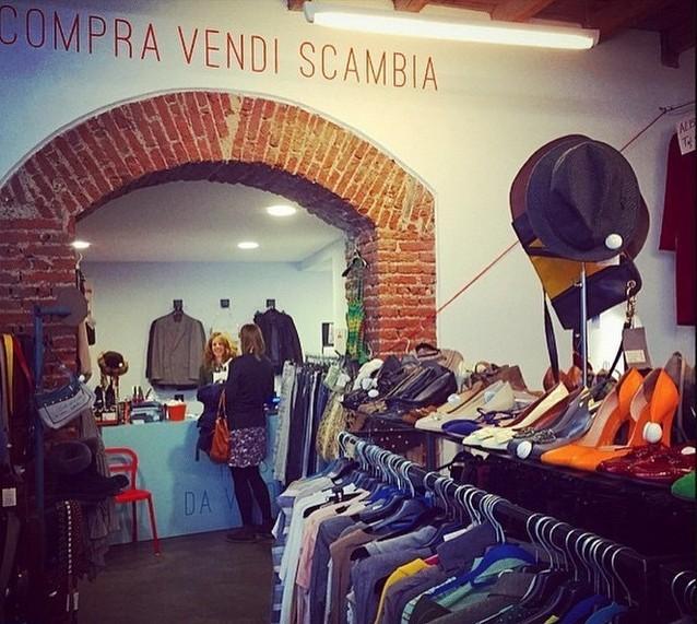 Vendere vestiti usati da Bivio