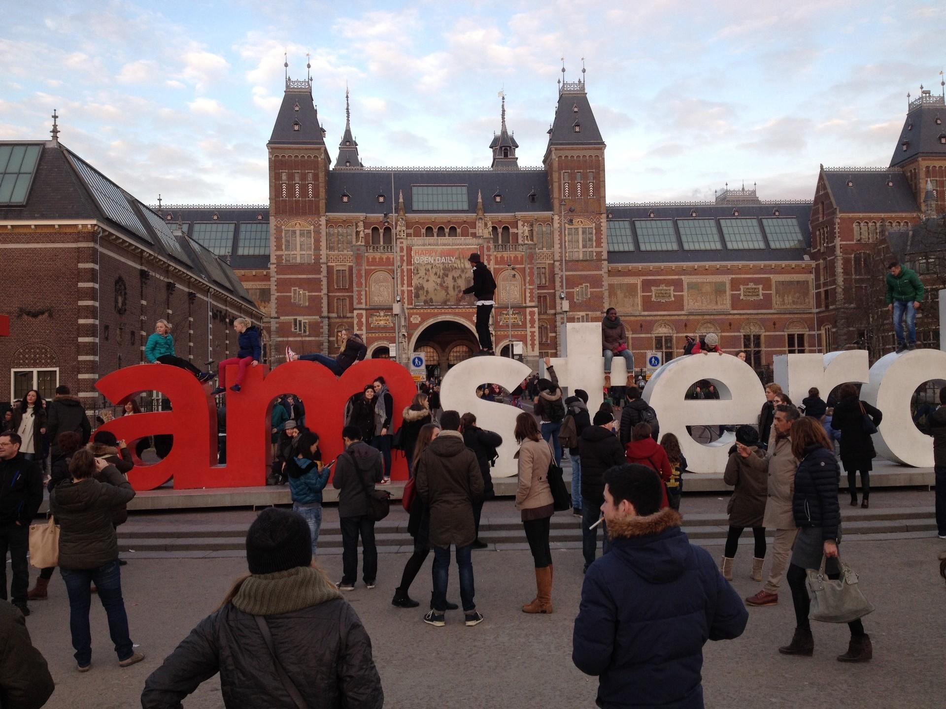 Virée entre amis à Amsterdam