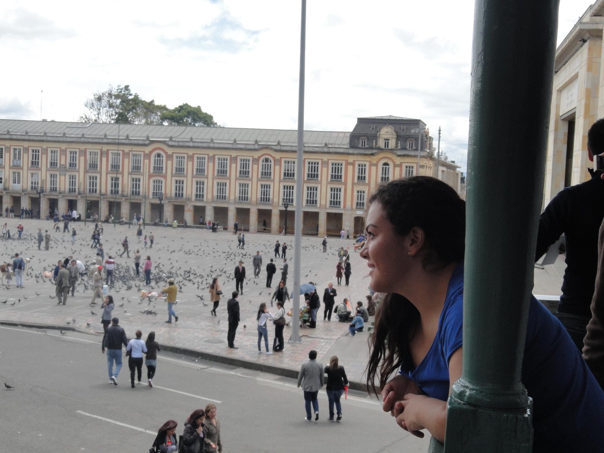 Visit Bogotá's historic city centre
