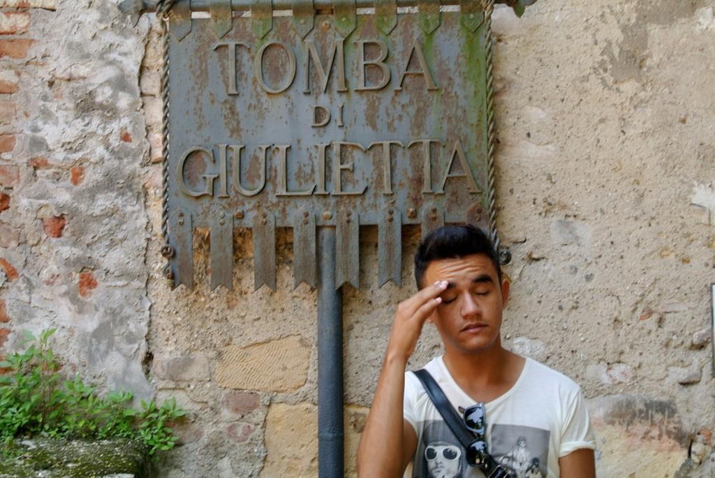 Visiting Juliet's Tomb