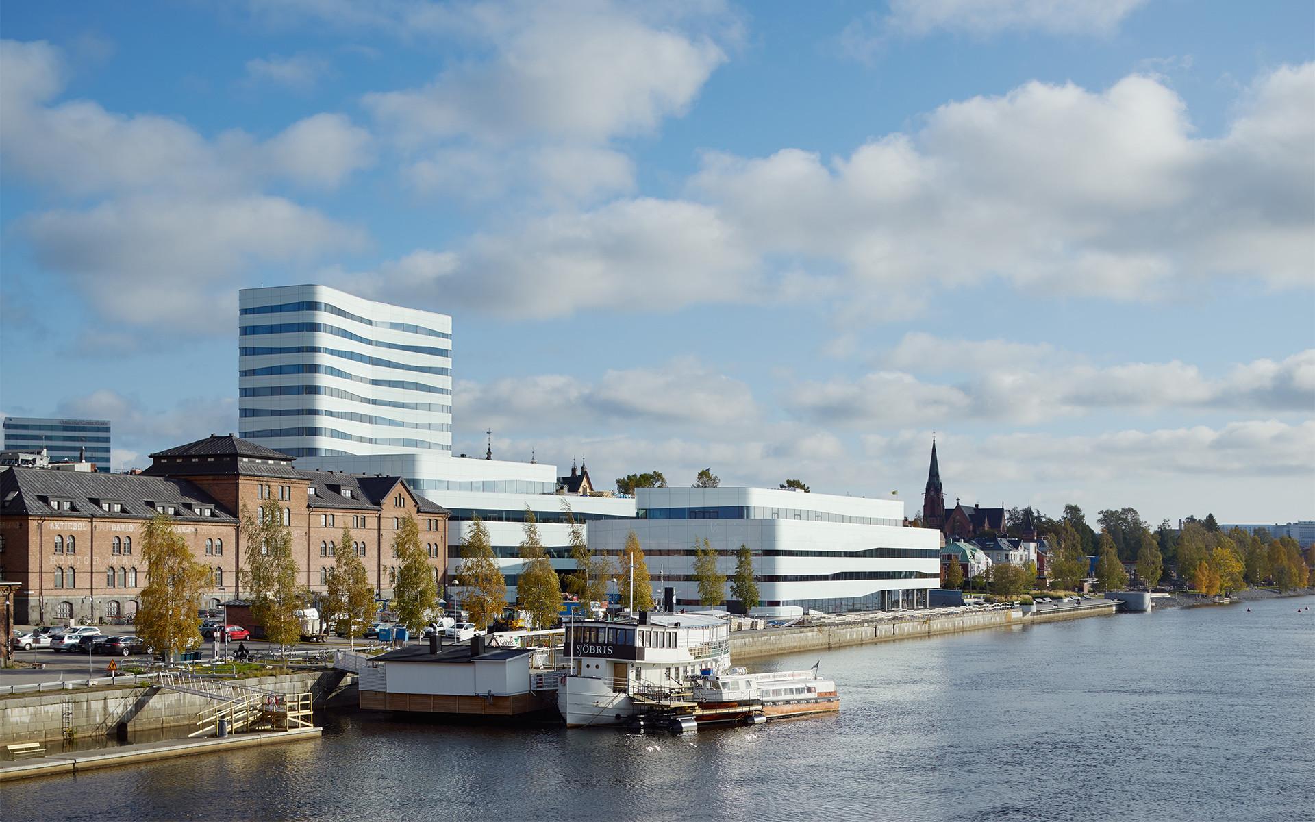 Viver em Umea, Suécia por Kim