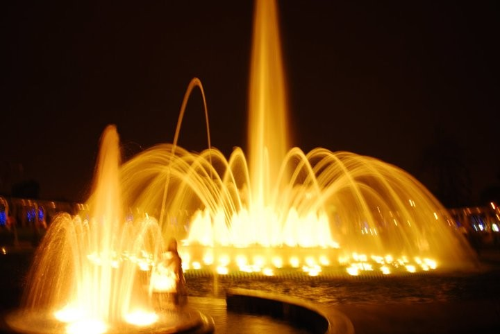 Water fountains of Lima