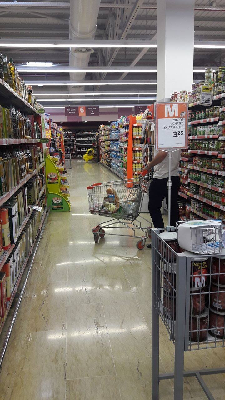 Where to do grocery shopping in Turkey