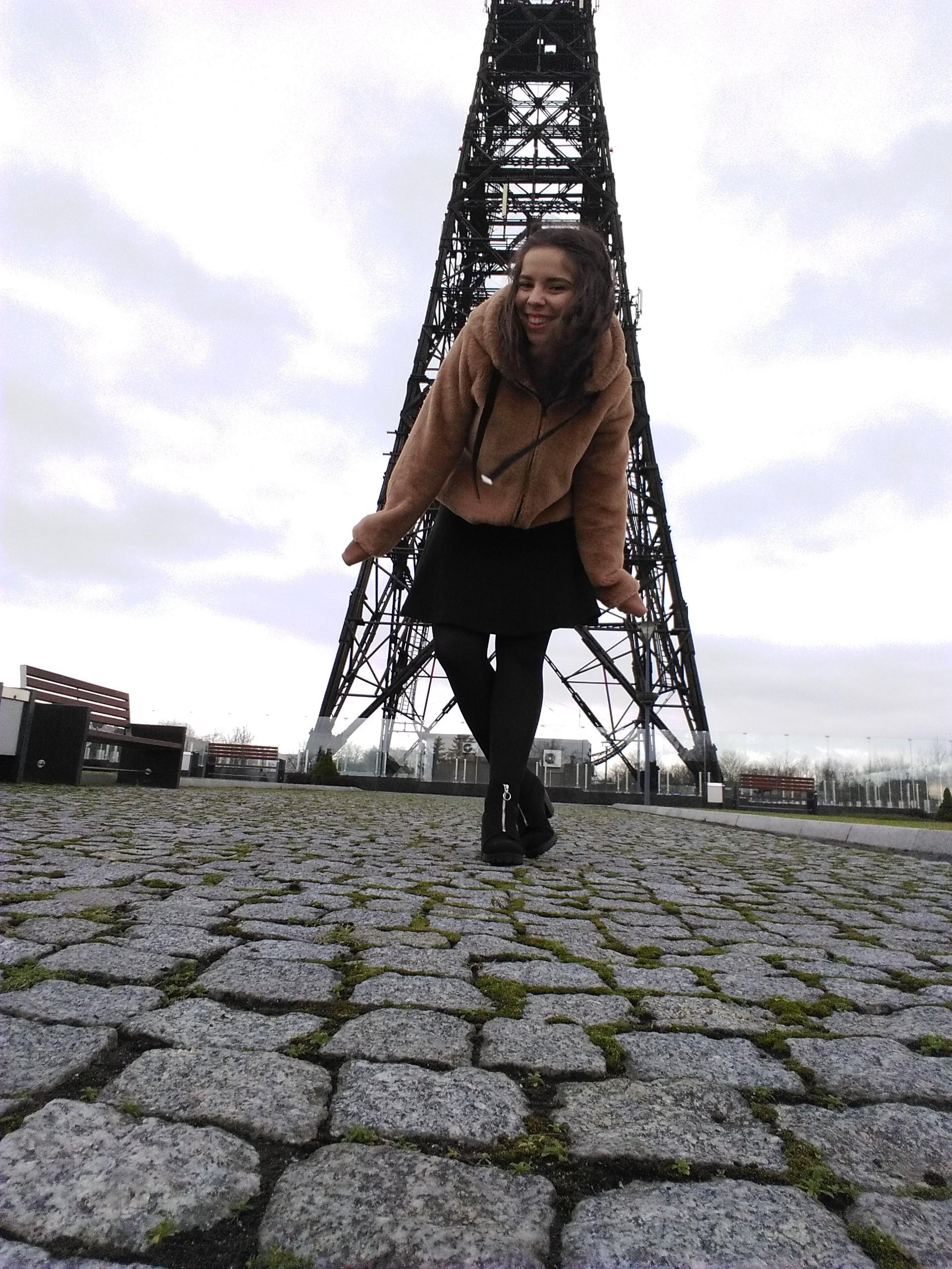 Wooden Eiffel Tower