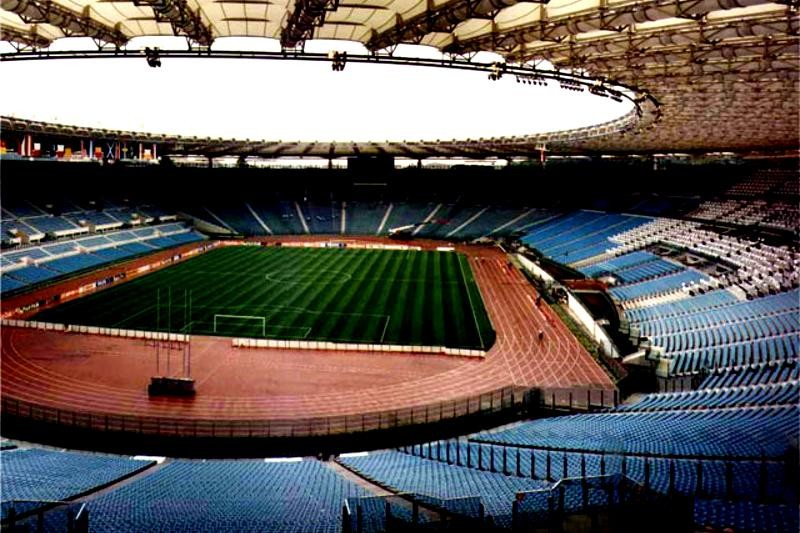Working as a Steward in the Olympic Stadium in Rome