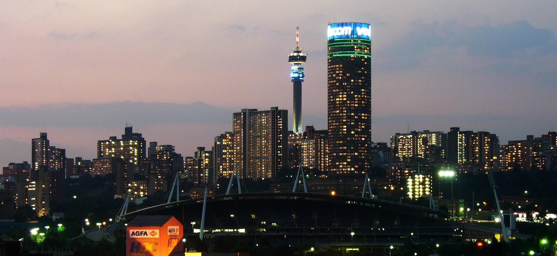Wrażenia z Johannesburga, Republika Południowej Afryki, według Richarda