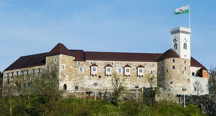 Wrażenia z Lublany, Słowenia, autorka: Nina