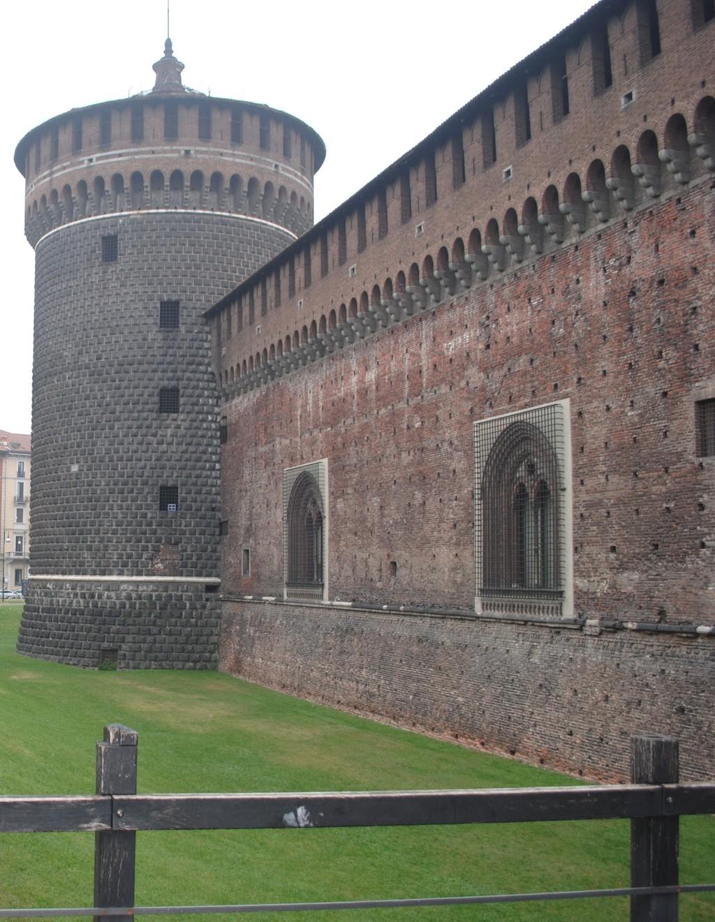 Zamek Sforzów w Mediolanie