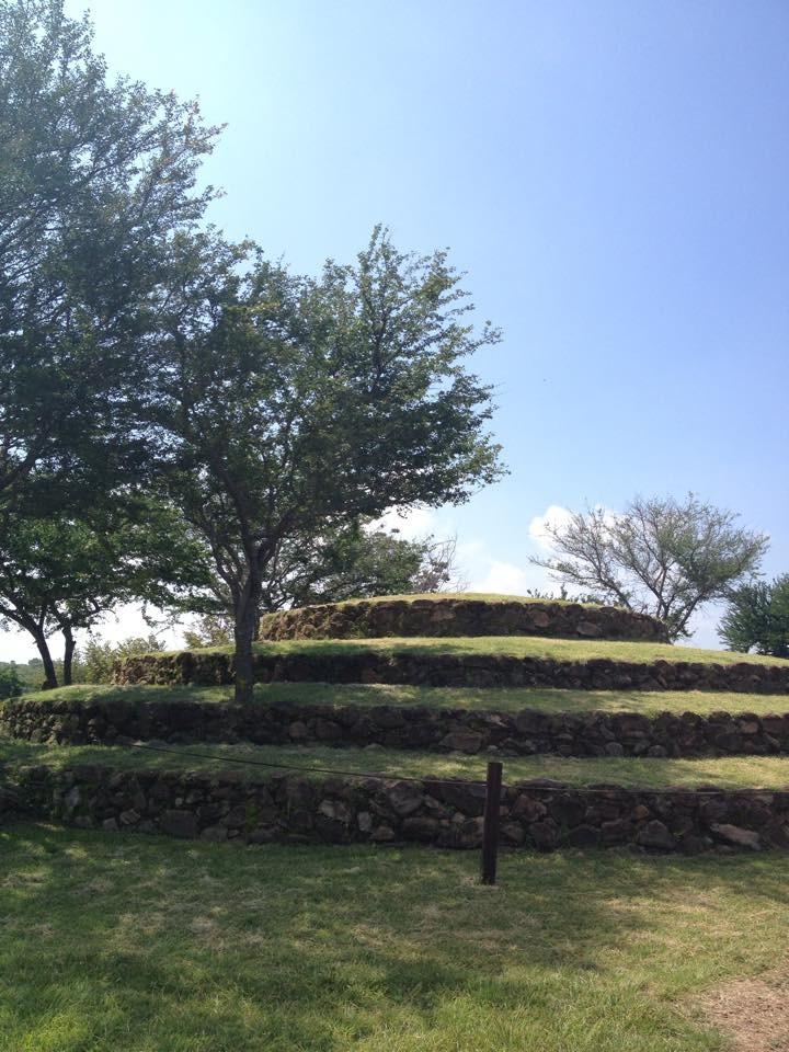 Zona archeologica ben conservata e strana