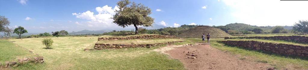 Zona arqueológica bien conservada y extraña