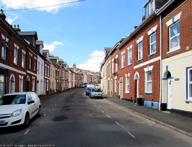 Zone di Exeter - I quartieri più importanti di Exeter